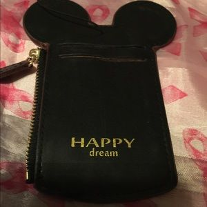 DISNEY HAPPY DREAM LEATHER ID LUGGAGE TAG* NEW